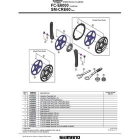 Shimano Steps FC-E6000 Crankset, black